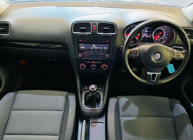 VW GOLF VI 1.4 TSi COMFORTLINE 2011 full